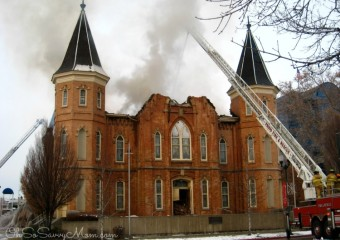 Tragedy in Provo – Provo Tabernacle Fire