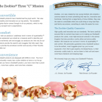 Zoobies Blanket Pets ~Review