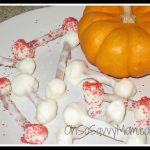 "Yummy Halloween Recipe: White Chocolate Covered ""Funny Bones"""