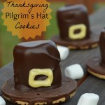 Easy Thanksgiving Pilgrim's Hat Cookie Treat