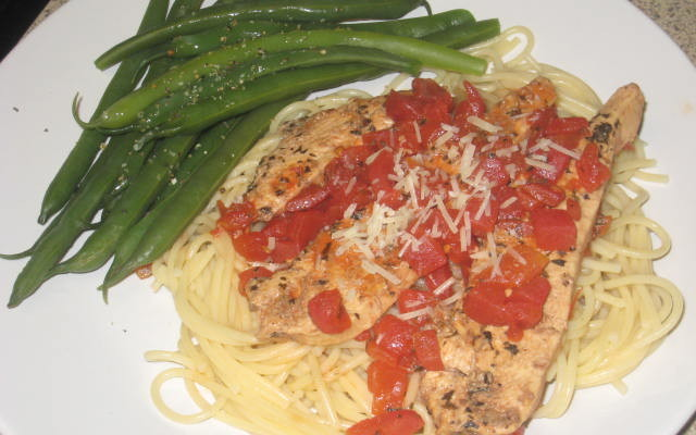 Delicious Balsamic Chicken Pomodoro #Recipe