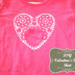 """Adoily-able"" Valentine's Day Shirt DIY!"