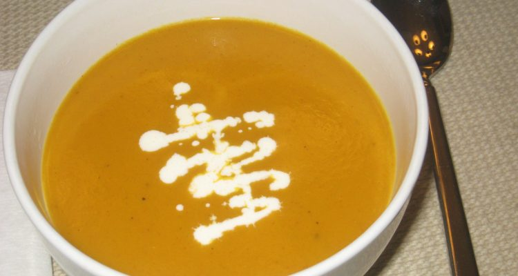 Curried Butternut Squash Soup – #Recipe