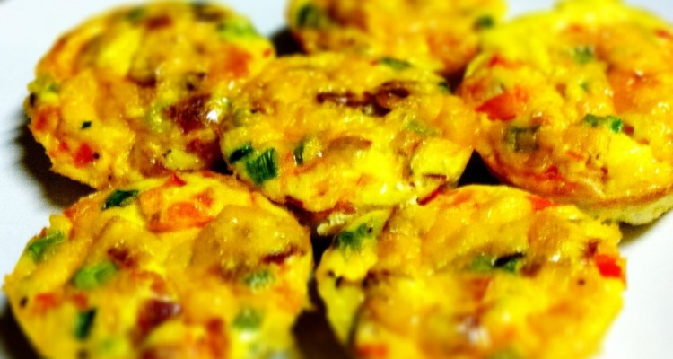 Mmm…Delish!  Muffin Tin Omelettes Recipe