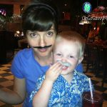 Wordless Wednesday: Are you questioning the authenticity of our staches? {Linky}