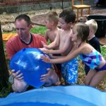 Wordless Wednesday {LINKY}: What happens when you make an Eighty Pound water balloon?