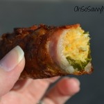 Bacon wrapped stuffed Jalapeno