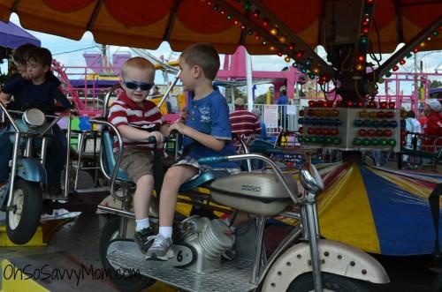 Louisiana State Fair kids rides