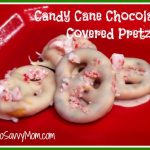 Kids in the Kitchen–Candy Cane Chocolate Covered Pretzels!
