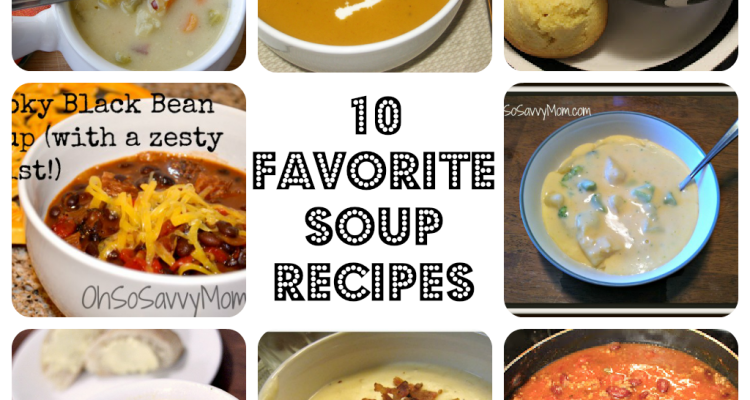 10 Delicious Soups to warm you from the inside out! #Recipe #HormelFamily