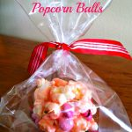 Valentines Day Popcorn Balls Recipe