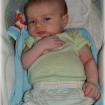 Not so wordless Wednesday: Look how baby's grown – Month 2