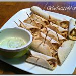 Mini Chicken Taquitos with Avocado Dipping Sauce – Perfect Snack for March Madness!
