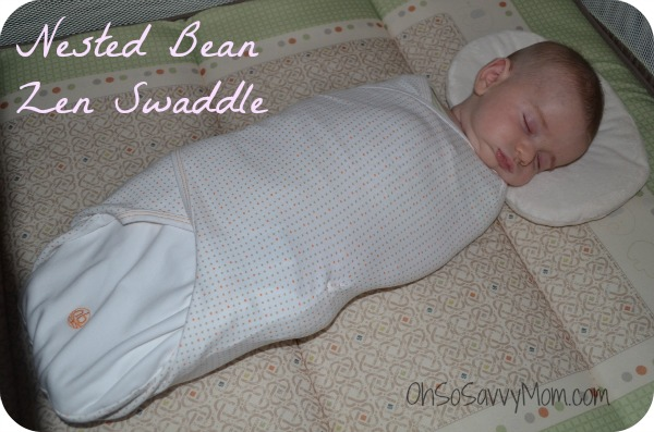nested bean zen swaddle oh so savvy mom