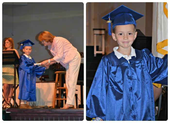 Big Brothers Kindergarten Graduation