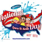 National Learn to Swim Day is Saturday, May 18! Will your kids be celebrating? #SwimSteps