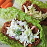 Gluten Free Southern Style BBQ Lettuce Wraps #HormelFamily