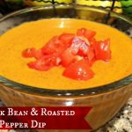 Black Bean and Roasted Red Pepper Dip #Recipe #HormelFamily