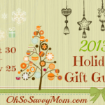 Announcing the 2013 Holiday Gift Guide!