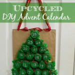 Upcycled DIY Advent Calendar