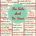 Fun Facts about Dr. Seuss You Probably Didn't know – Free Printable!