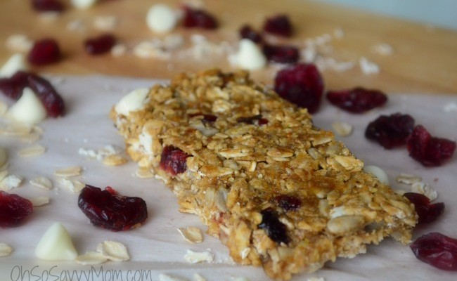 Homemade, Allergy Friendly Granola Bars – Recipe