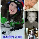 Wordless Wednesday: Happy 4th Birthday, Little Brother!