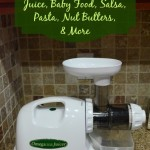 Omega 8004 Juicer, Masticating Juicer