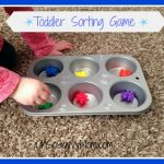 Teach Important Words and Concepts with these Toddler Sorting Games