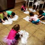 Shaving Cream Painting – Wordless Wednesday