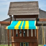 Easy DIY Swing Set Canopy Replacement