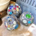 DIY Mosiac Garden Balls - Handmade Mother's Day Gift