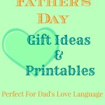 Father's Day Gift Ideas + Free Fathers Day Printables