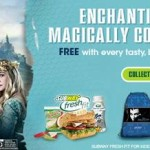 Pile on the Veggies with Disney's Maleficent at Subway! + Giveaway