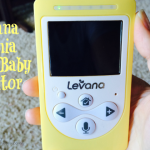 Do More Knowing Baby is Sleeping Safe and Sound – Levana Video Baby Monitor Review and Giveaway!