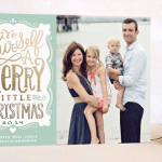 My Favorite Christmas Card Designs and Precious Holiday Birth Announcements!