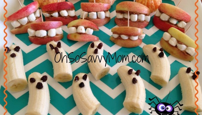 Kid Approved Healthy Halloween Appetizers!