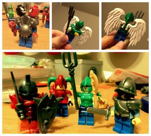 BrickWarriors Custom LEGO Minifigure Accessories