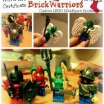 BrickWarriors Custom LEGO Minifigure Accessories Giveaway!