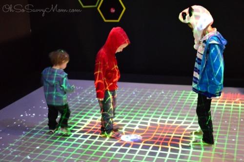 Perot Museum MathAlive Exhibit