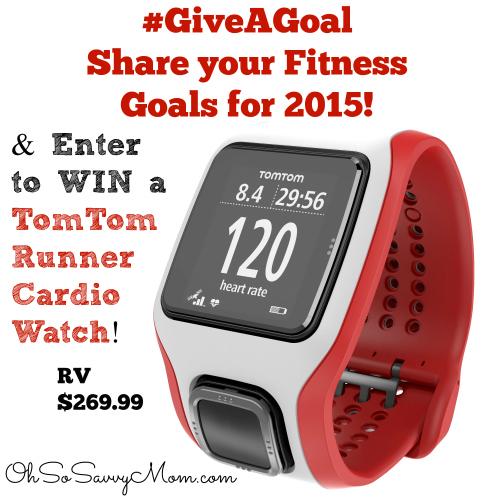 TomTom Runner Cardio Watch Giveaway