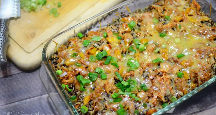 Santa Fe Chicken Quinoa Casserole Recipe
