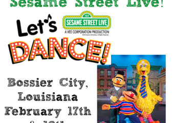 Sesame Street Live is coming to Bossier City, Louisiana! Promo Code + Giveaway!