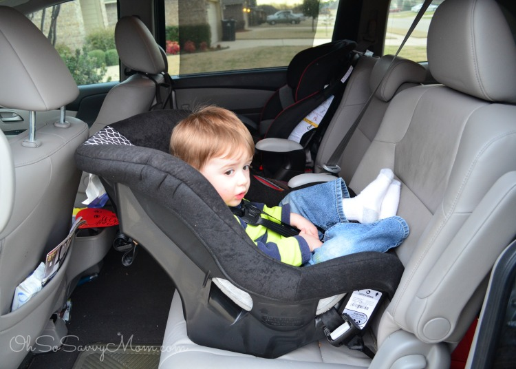 Cosco NEXT extended rear facing convertible car seat - Oh So Savvy