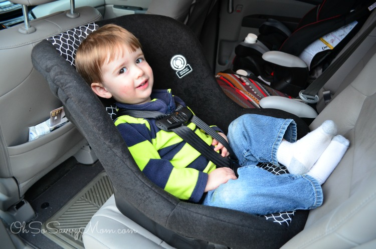 Extended Rear Facing Car Seat Cosco Scenera Next Review