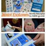 Junior Explorers Kit, Educational Monthly Subscription Box