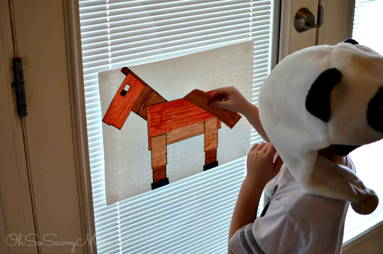 Minecraft Birthday Party Ideas Pin The Tail On The Horse Oh So