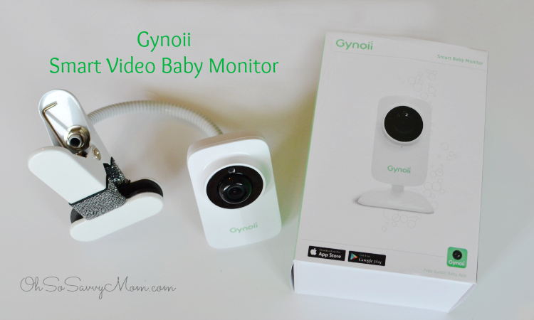 gynoii wifi video baby monitor with time lapse review oh so savvy mom. Black Bedroom Furniture Sets. Home Design Ideas