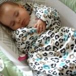 Margaux and May Swaddle Blankets that Grow with Your Baby