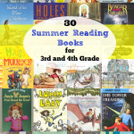 30 Summer Reading books for 3rd and 4th Grade